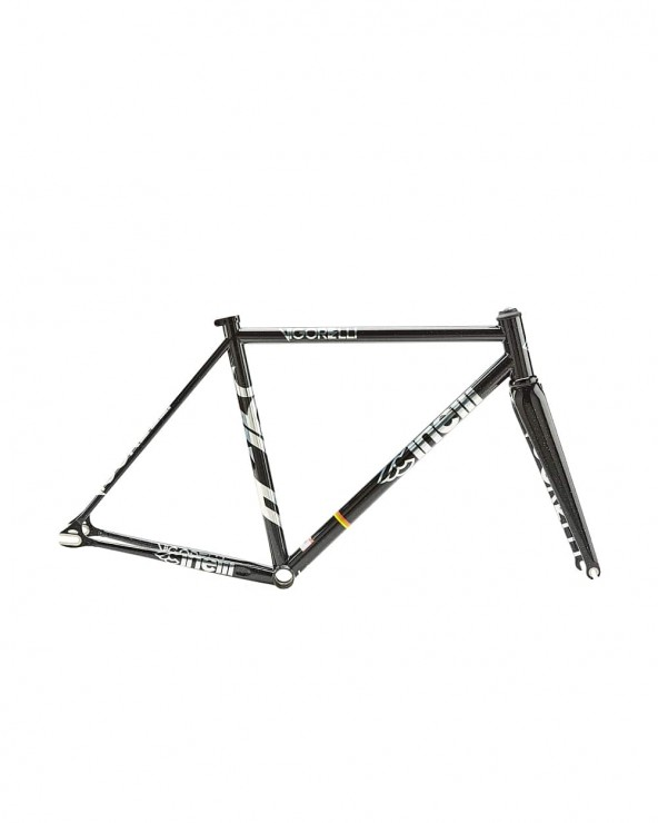 Kit cadre Cinelli Vigorelli Steel Black Night