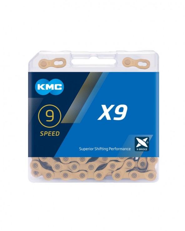 Chaîne 9 vitesses KMC X9
