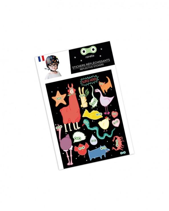 Stickers réfléchissants Rainette Super Heros