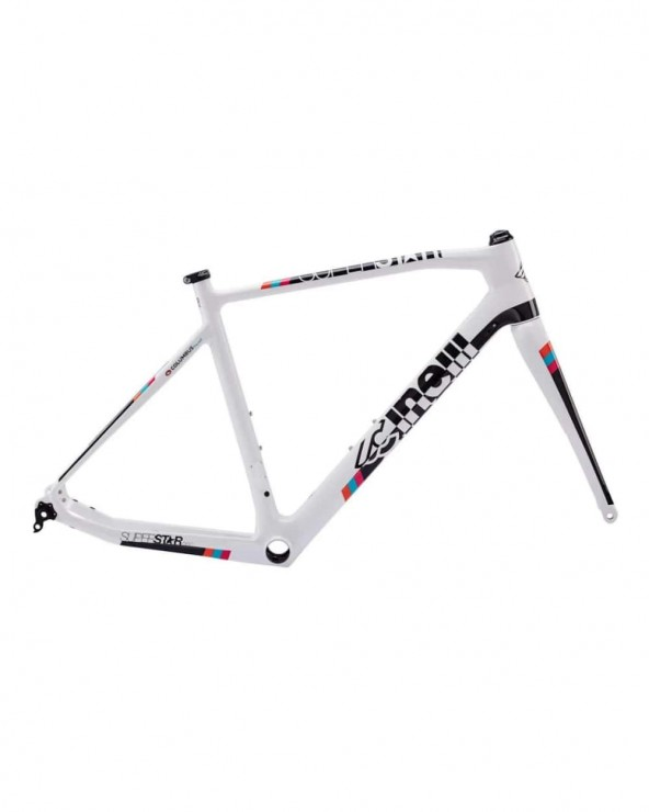 Kit cadre Cinelli Superstar Disc white noise