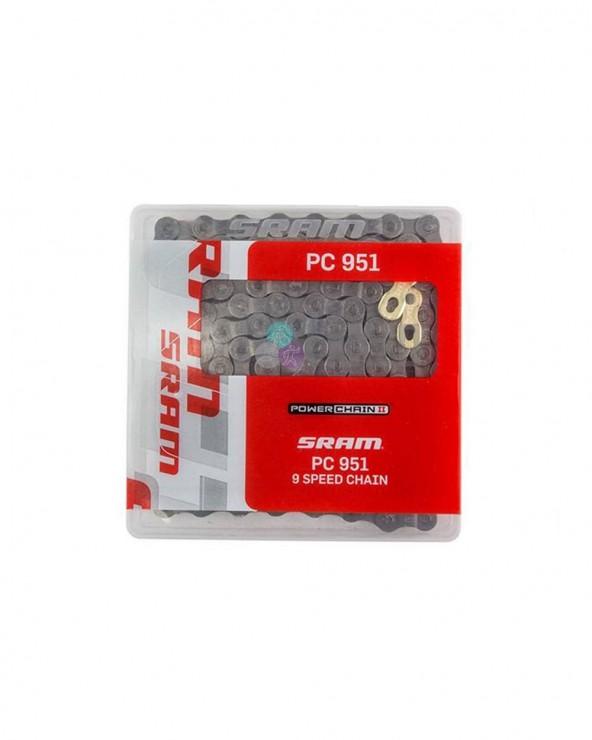 Chaîne SRAM PC951 9 vitesses