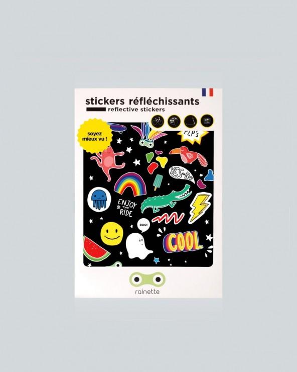 Stickers réfléchissants Rainette Peps