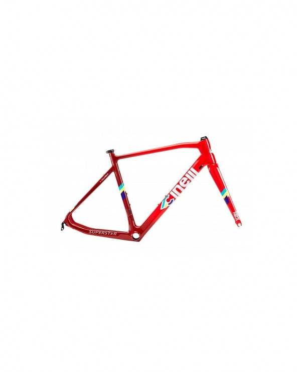 Kit cadre Cinelli Superstar Red Hot