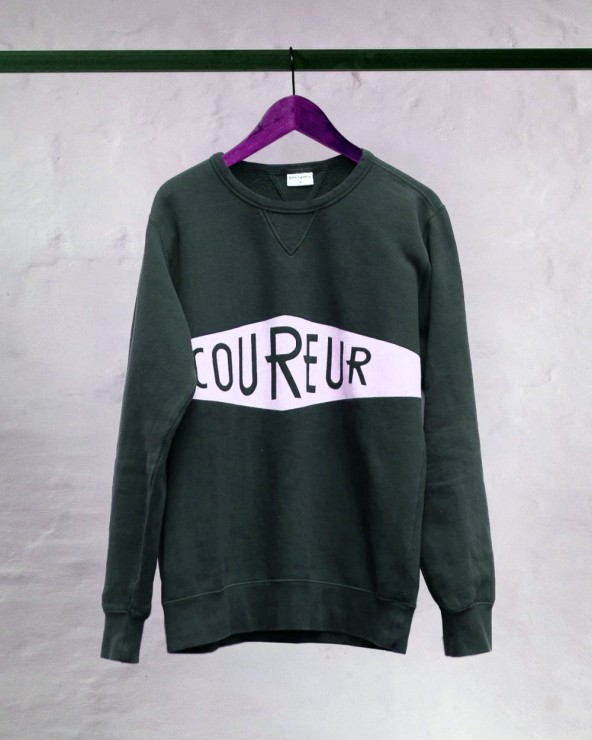 Pull Erstwhile Coureur Faded Black