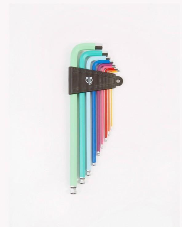 Set de clés Allen Rainbow BLB