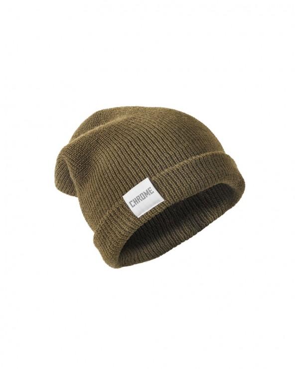 Bonnet Chrome Wool Cuff Beanie
