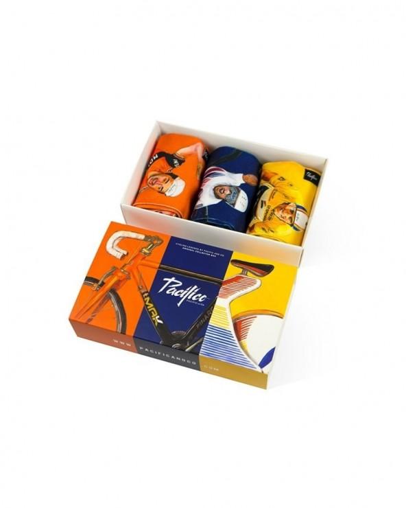 Chaussettes Pacific & Co Cycling Legends Edition Limitée